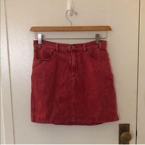 Frame Denim Red skirt
